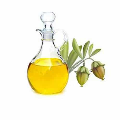 Jojoba oil and almond oil